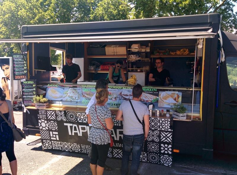 Stand auf dem Street Food Festival Mannheim