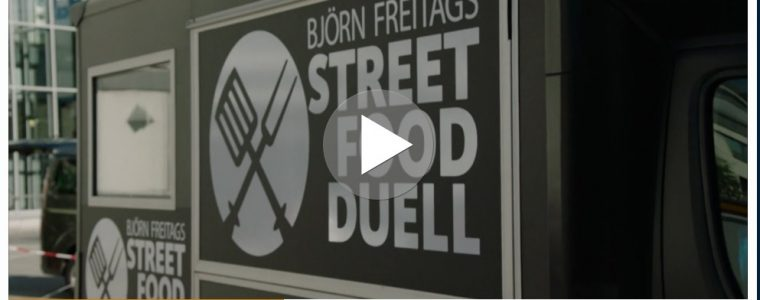 Screenshot Streetfood Sendung TV