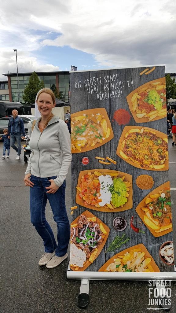 Banner des Foodtrucks Von Erdapfel