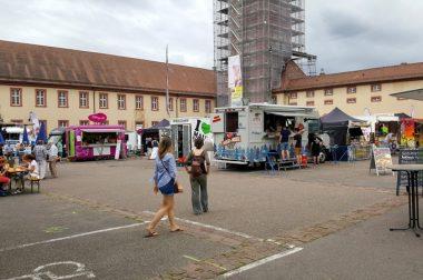 Fast vorbeigefahren: Streetfood-Festival in Bruchsal