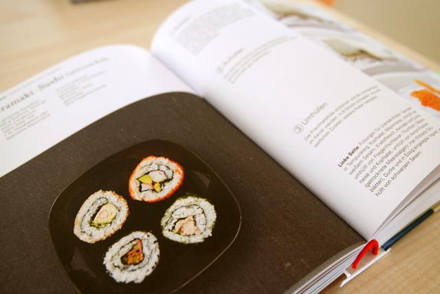 Sushi Seite Kochcbuch Asiatisch Kochen