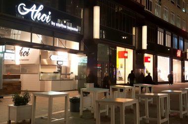 """Auf die Hand in Hamburg: Im """"Ahoi by Steffen Henssler"""""""