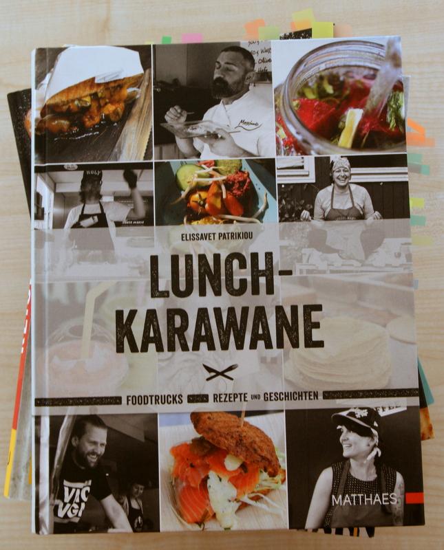 """Ein paar Zettel zum Nachmachen stecken auf jedem Fall im Buch """"Lunch-Karawane"""""""