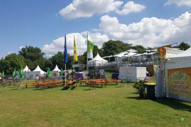 """Streetfood auf einem Musik-Festival? Spurensuche beim Aufbau von """"DAS FEST"""" in Karlsruhe"""