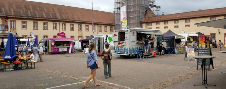 Street Food in Bruchsal am Wochenende