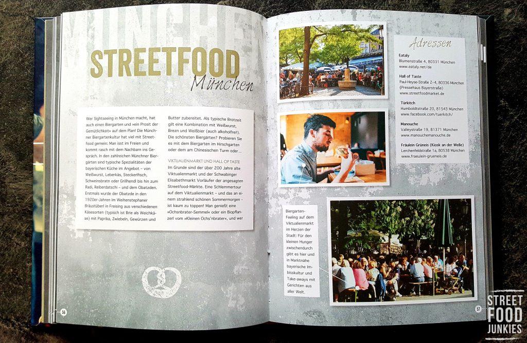 Auszug Kochbuch Streetfood Kultur in München