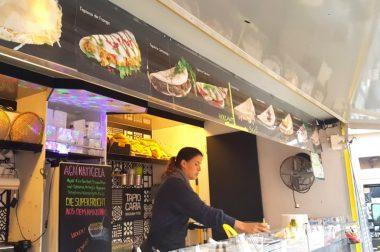 Kulinarisch top, Wetter flop: Streetfood-Festival in Erfurt